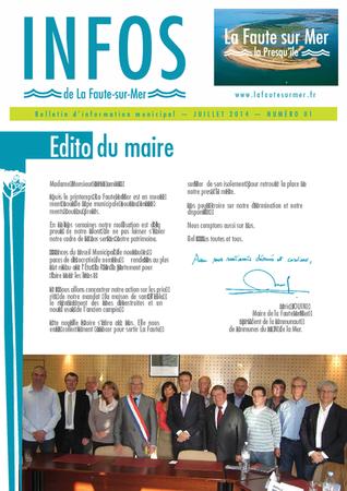 Infos la Presquîle - juin 2014