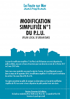 modification simplifiée du PLU