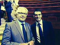 photo Manuel Valls et Patrick Jouin