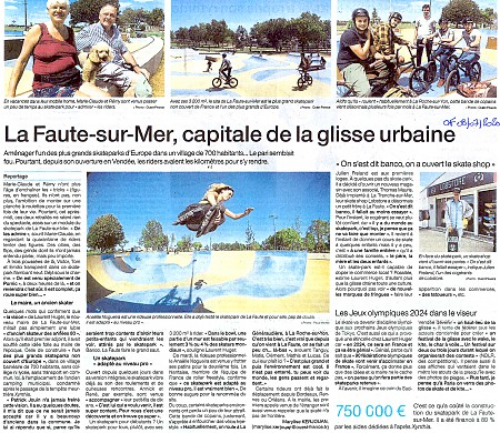 article ouest france grand