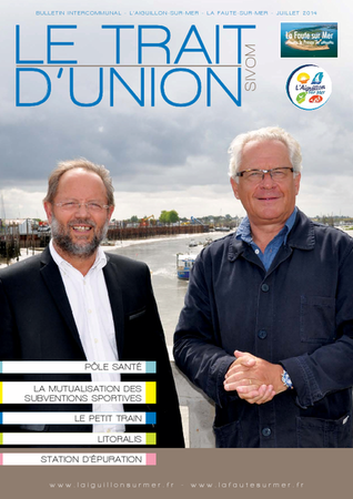 Le trait dunion - juillet 2014
