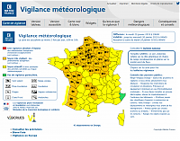 CARTE VIGILANCE ORANGE JANIER 2019