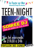 affiche teen night