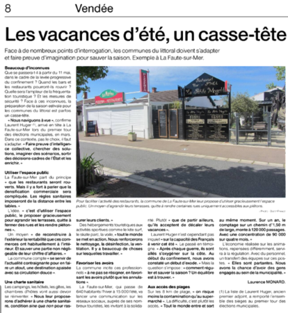 article OF 20 avril 2020
